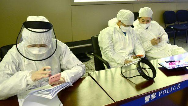 Harbin-airport-workers-virus