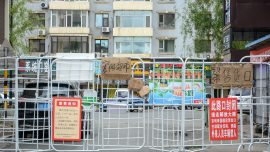Clashes in China's Guangdong Amid Lockdown