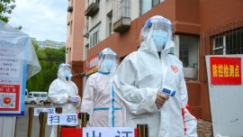 Locals Flee As Virus Cases Rise in China