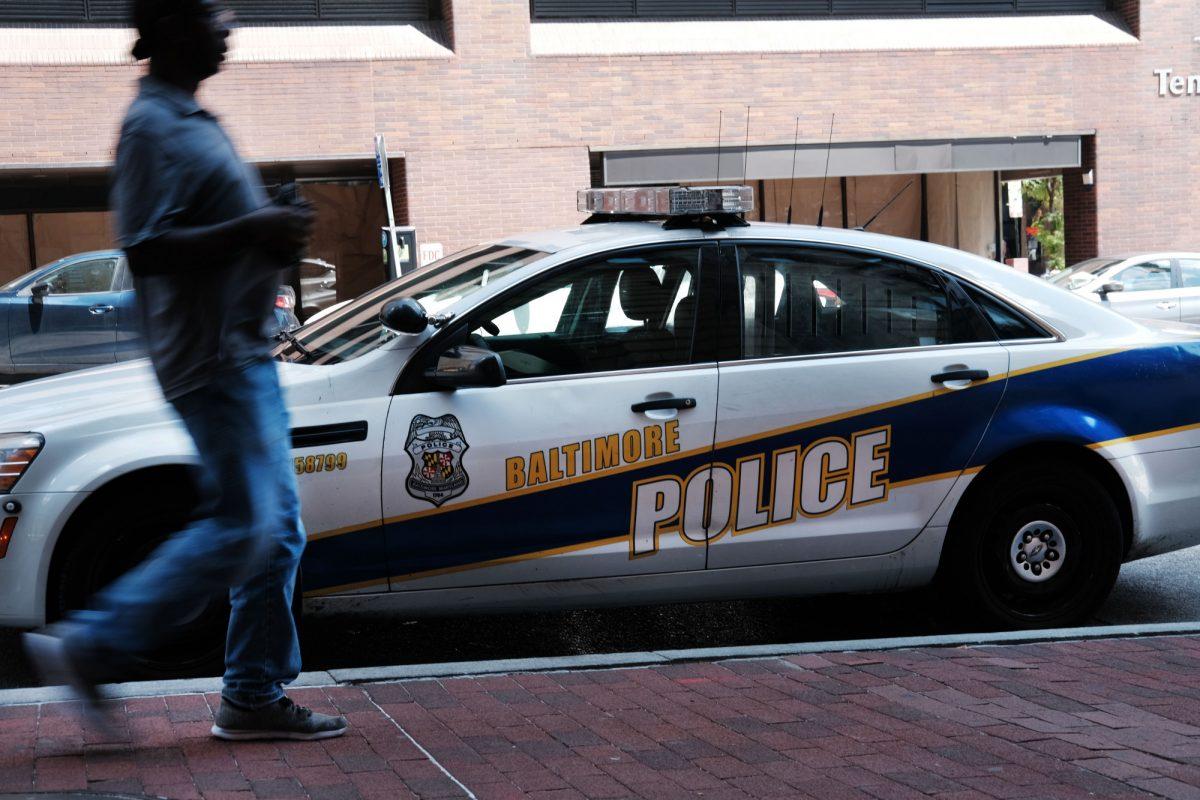 Police car Baltimore