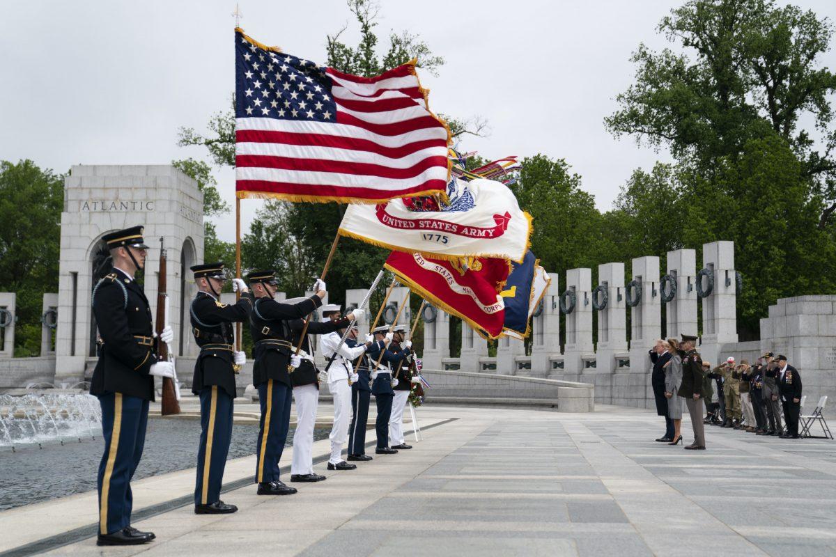 Trump WWII memorial