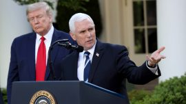 Pence Aide Tests Positive for CCP Virus