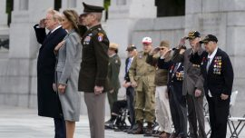 Trump Pays Tribute to Americans Who Fought in WWII on 75th Anniversary of V-E Day