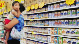 China: Babies Sickened by Fake Formula