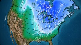 Polar Vortex Could Bring Rare May Snow, Low Temps to US East