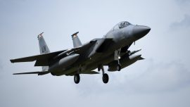 Deceased US Air Force Fighter Jet Pilot Identified