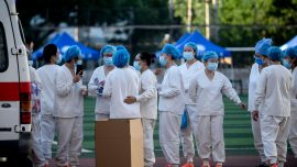 City in South China Imposes Virus Lockdown