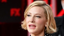 Cate Blanchett Cut Her Head With a Chainsaw During Lockdown–But She's OK