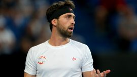 Tennis Star Nikoloz Basilashvili Charged With Assaulting Ex-Wife