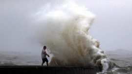 Cristobal Weakens to Tropical Depression, Rains Persist