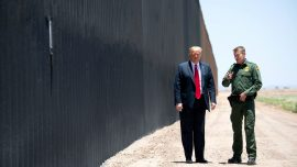 Trump Commemorates 200th Mile of New Border Wall