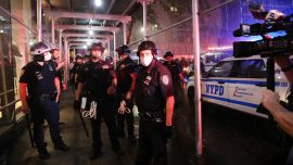 Peaceful Protests In NYC, Looting In Bronx
