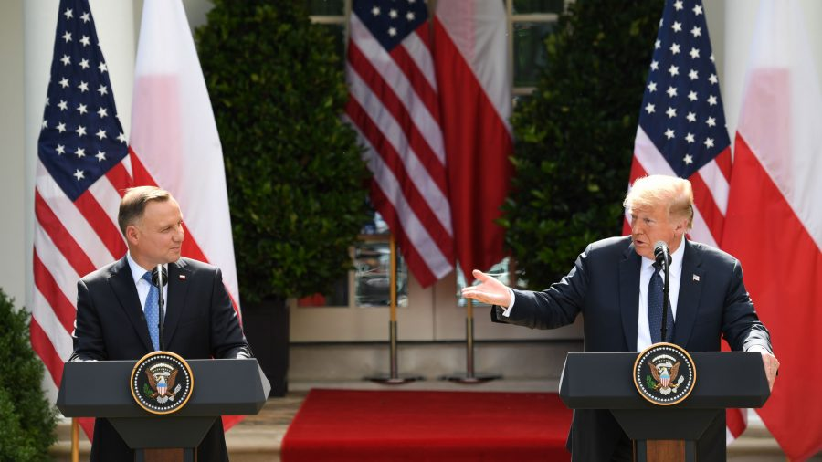 US, Poland to Expand Economic, Security Cooperation Based on Shared Values