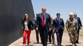 Trump Visits Border, Speaks of Changes