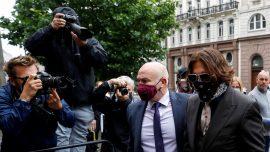 Actor Johnny Depp Attacked Ex-Wife on Plane in Drunken Rage, UK Court Hears