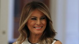 First Lady Delivers Lunch to Firefighters, Families in Washington