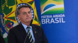 Brazil's President Confident Hydroxychloroquine Will Cure His Virus
