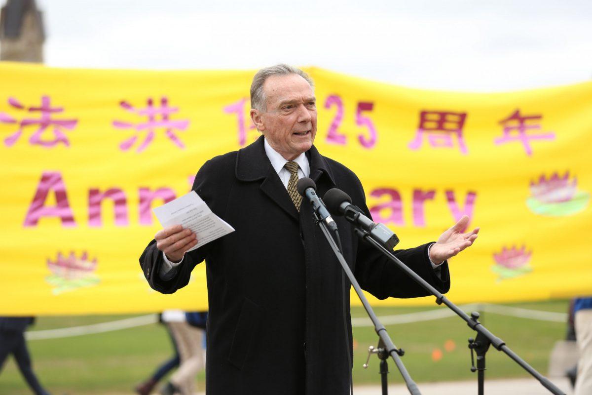 Canadian MP Peter Kent