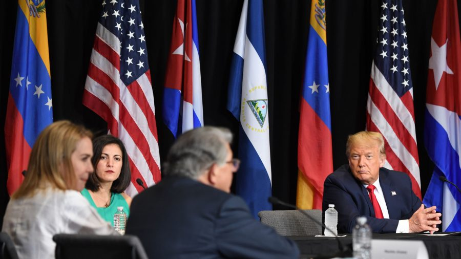 Venezuelan, Cuban Refugees Call on Trump to Help Free Their Countries From Communism