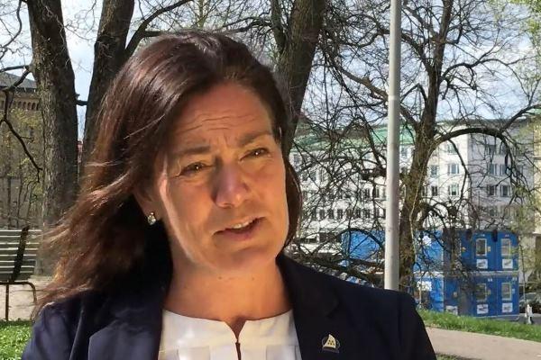 Swedish lawmaker Ann-Sofie Alm