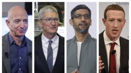 Zuckerberg, Bezos, Other Tech CEOs to Testify on Competition