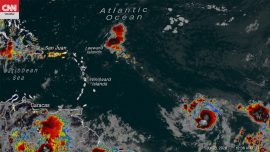 Tropical Storm Gonzalo Expected to Become Season's First Hurricane