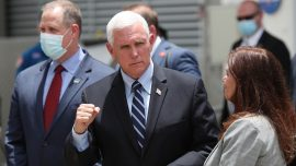 Pence Campaign Events in Florida Called Off as State Sees Spike in COVID-19 Cases