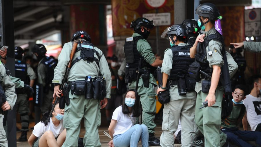 Hong Kong Police Fire Tear Gas, Arrest More Than 300 Protesters as They March Against National Security Law