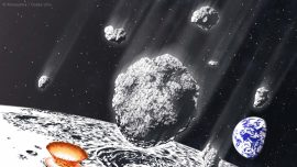 A Massive Asteroid Shower Hit Earth and the Moon 800 Million Years Ago, Study Says