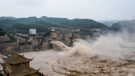 Soldiers Blast Dam in China Breached by Rain