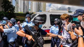 Hong Kong Court Denies Jury Trial to First Person Charged Under National Security Law