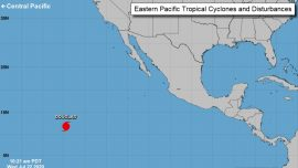 First Hurricane of the Season Forms in Eastern Pacific