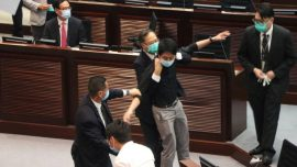 HK Police Arrest Two Pro-Democracy Lawmakers Over 2019 Protests