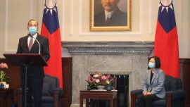 Health Secretary Azar Voices Strong US Support for Taiwan in Historic Meeting