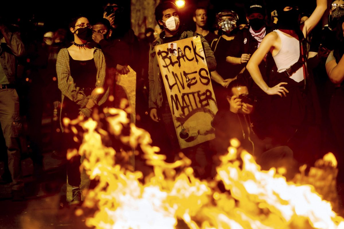 BLM protest in Portland
