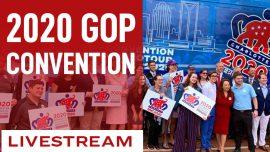 Programming Alert: 2020 GOP Convention Live Schedule