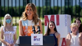 First Lady Speaks at 'Build the Movement'