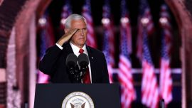 Mike Pence Delivers 'Law and Order' Speech at RNC