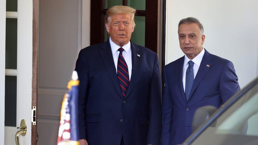 Trump, Iraqi Leader Meet to Discuss US Future Role in Iraq