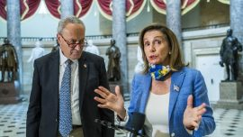 Schumer, Pelosi Reject Latest GOP Pandemic Aid Proposal