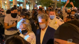 Protesters Harass Attendees Leaving RNC