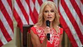 Kellyanne Conway to Leave White House End of Month
