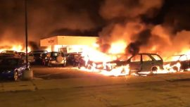 Chaos in Wisconsin City as Rioters Burn Buildings, Attack Police