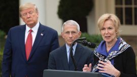 Trump Says Fauci, Birx Are 'Self-Promoters Trying to Reinvent History' in Scathing Statement