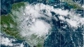 Hurricane Nana Hits Belize, Drives Across Guatemala