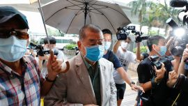 Hong Kong Freezes Listed Shares of Media Tycoon Jimmy Lai Under Security Law