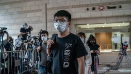Hong Kong Pro-Democracy Activist Joshua Wong Arrested for 'Unlawful Assembly'