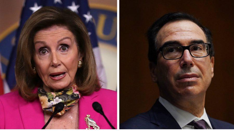 Pelosi, Mnuchin Speak for an Hour but Don't Reach Stimulus Deal