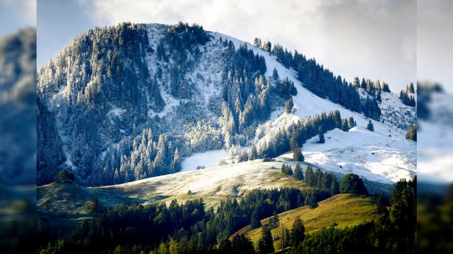 Alps Surprised by Early Snowfall, Swiss Town Sees New Record
