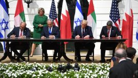 Middle-East Leaders Sign Peace Deals